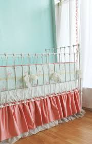 Nursery Crib Bedding Sets by Sold Out Coral Fawn U0026 Forest Baby Bedding Set Lottie Da Baby