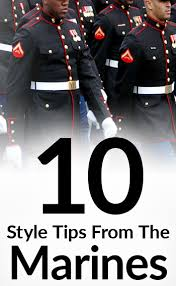 10 style lessons learned in the marines military clothing hacks
