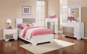 Bedroom Collections In White Havering 400861 Youth Bedroom 4pc Set In White W Options