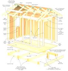 free shed plans building easier with my wood incredible roof
