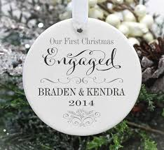 50 cutest ornaments engaged married emmaline