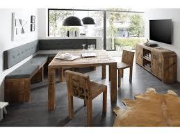 table et banc de cuisine ensemble de salle à manger sheffield avec table chaises et banc