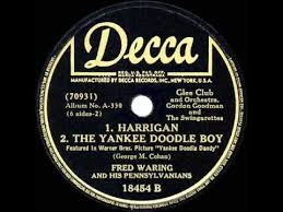 yankee doodle club 1942 fred waring harrigan the yankee doodle boy with vocal