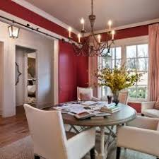 Transitional Dining Rooms Red Dining Room Photos Hgtv