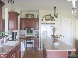 Chalk Paint On Kitchen Cabinets by Chalk Painted Kitchen Cabinets Never Again White Lace Cottage