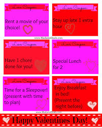 printable valentine love coupons real advice gal