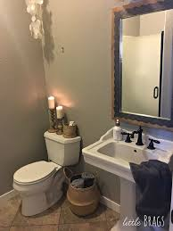 Powder Room Photos - little brags a little make over in the powder room