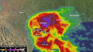 rainfall totals map nasa s imerg shows rainfall accumulation along harvey s track