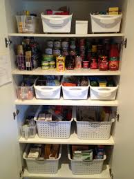 organising a kitchen pantry with deep shelves kitchen