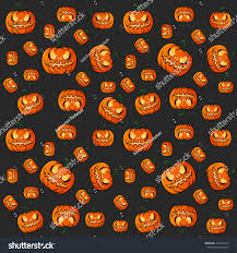 halloween pattern suitable print wallpaper background stock vector