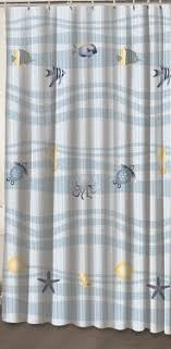 Fish Curtains Gorgeous Fish Shower Curtains And Fishing Shower Curtain Foter