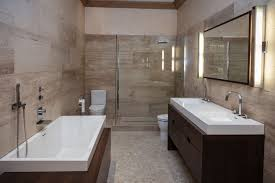 Dark Bathroom Ideas by Contemporary Guest Bathroom Ideas Polish Brown Plastic Swing Door