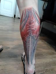 shin tatoos me again u2013 a long saga of my calf tattoo aniareads weblog