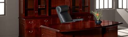 Traditional Office Desks Traditional Office Desks Rich Hardwood Finishes Leather Inlays