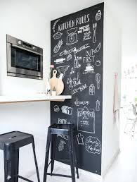 tableau ardoise pour cuisine tableau craie cuisine idace de mur repeint en peinture ardoise pour