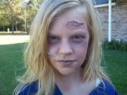 How To Do Halloween Makeup Zombie by Zombie Football Player Costume Makeup Images