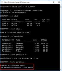 cannot format gpt drive the best ways to fix diskpart virtual disk service errors