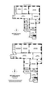 Architectural Building Plans Floor Plan Of Huguette Clark U0027s New York Apartment Architectural