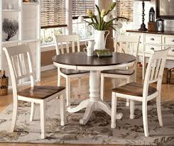 Round Wooden Dining Set 20 White Wood Round Dining Table Nyfarms Info