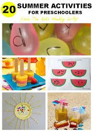 20 summer activities for preschoolers activities summer and