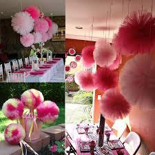 tulle pom poms 5pcs diy 4 6 8 10 tulle pom poms balls for wedding party bridal