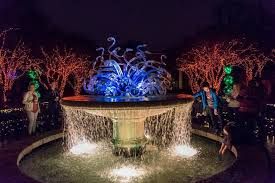 atlanta botanical garden lights garden lights holiday nights at the atlanta botanical gardens the