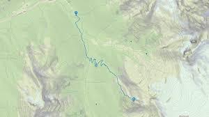 Glacier Park Map Glacier Crest Trail Glacier National Park U2022 Mb Guiding