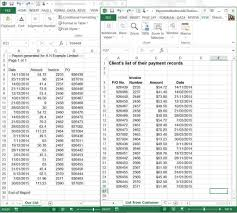 Excel Spreadsheet Examples Sample Of Excel Spreadsheet With Data Haisume