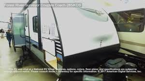 forest river surveyor couples coach 285ikds youtube