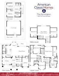 adu house plans kensington seattle wa new homes american classic homes