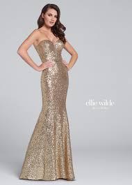 strapless sequin fit u0026 flare sweetheart prom dress ew117033