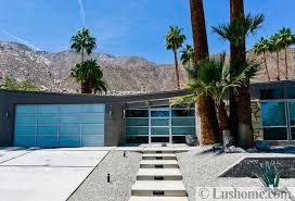 mid century modern house exteriors distinct roof design for