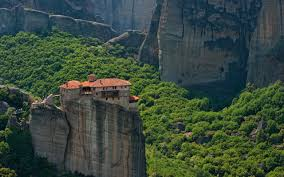 Meteora Greece Map by Holy Trinity Monastery Agia Trias Meteora Greece Mike