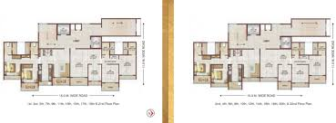 Icon Condo Floor Plan by Regency Icon By Regency Group In Kharghar Mumbai Price