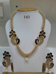 trendy necklace sets images Peacock necklace set at rs 715 piece sowcarpet chennai id jpg