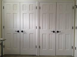 Bifold Mirrored Closet Doors Lowes Bathroom Mesmerizing Gorgeous Brown Flooring Bi Folding Doors