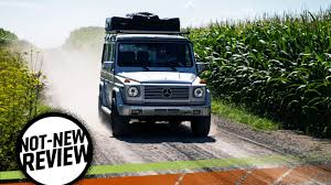 using a mercedes benz g wagen as a camper finally gives it a real