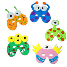Moshi Monsters Halloween by Little Monster Foam Mask Monster Party Bag Fillers Party Ark