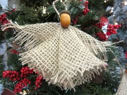 how to make burlap woodland ornaments the home depot community
