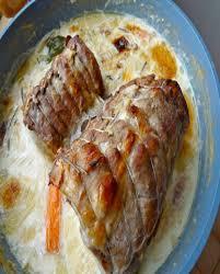 cuisiner roti de porc rôti de porc moelleux au lait pour 8 personnes recettes à table