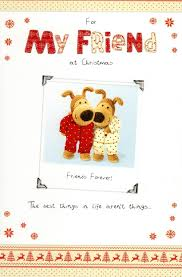 boofle for my friend christmas greeting card cards love kates