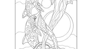 Seeking Dolphin Global Coloring Dolphin Coloring Page Dolphin Coloring Book