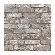 provincial wallcoverings 2604 21259 brickwork pewter exposed brick