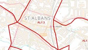 map of st albans city sector map st albans e39