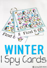 winter i spy for kids free printable living well mom