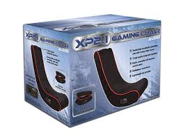 amazon com cohesion xp 2 1 gaming chair with audio sports u0026 outdoors