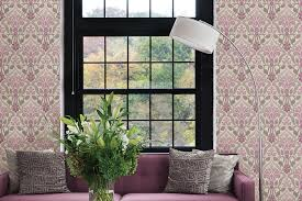 Wallpaper Design For Room - elegant strip wallpaper living room design hupehome