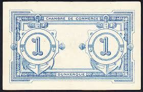 chambre de commerce dunkerque dunkerque chambre de commerce note 1 franc emergency issue