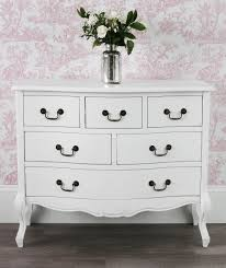 Already Assembled Bedroom Furniture by Juliette Large White 6 Drawer Chest 120x96 Bedroom Furniture