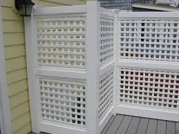 vinyl lattice fence panels